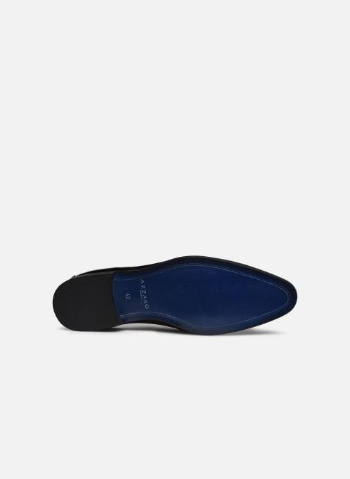 Zapatos con cordones Azzaro VICHOL Negro vista de arriba