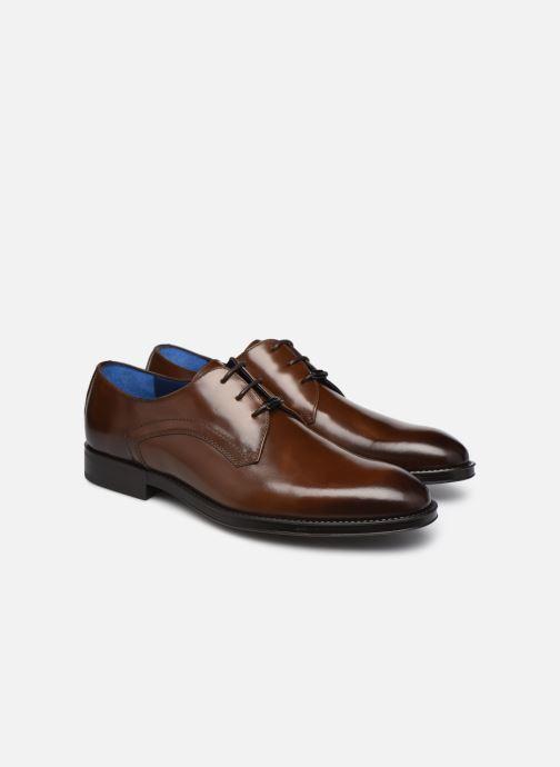 Zapatos con cordones Azzaro DOLICO Marrón vista 3/4