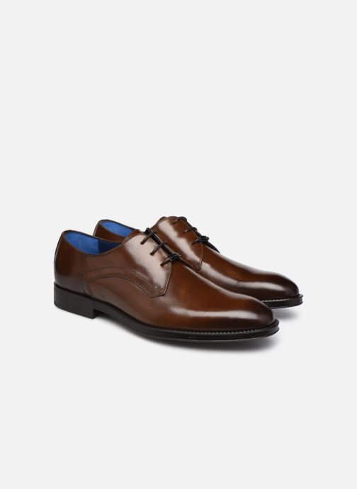 Chaussures à lacets Azzaro DOLICO Marron vue 3/4