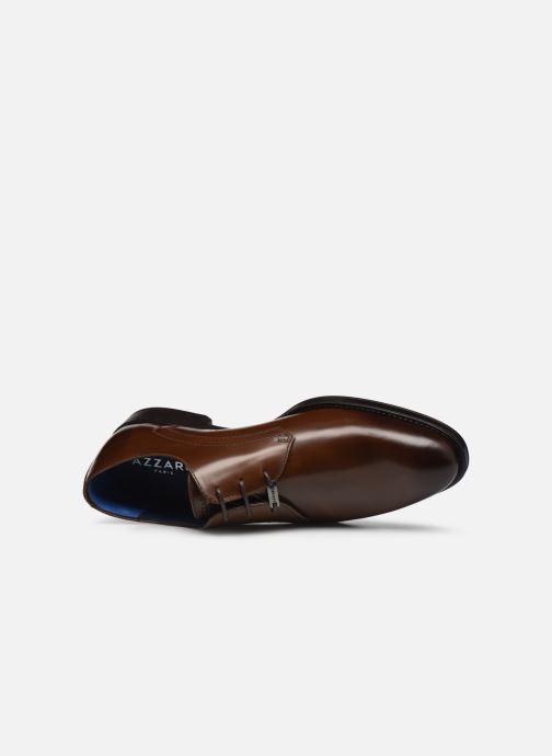 Zapatos con cordones Azzaro DOLICO Marrón vista lateral izquierda