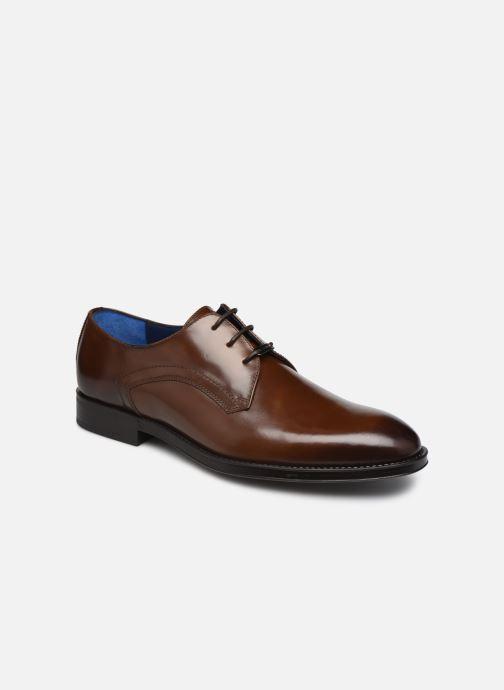 Chaussures à lacets Azzaro DOLICO Marron vue détail/paire
