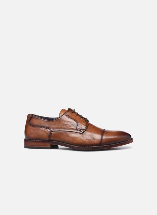 Zapatos con cordones Azzaro TILLEUIL Marrón vistra trasera