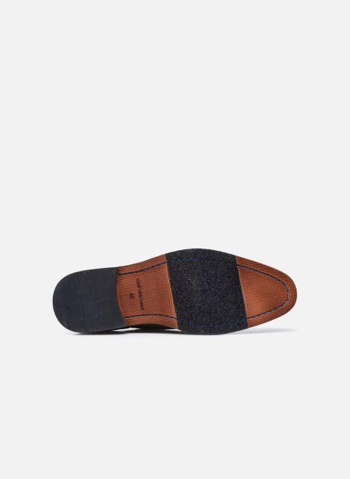 Zapatos con cordones Azzaro TILLEUIL Marrón vista de arriba