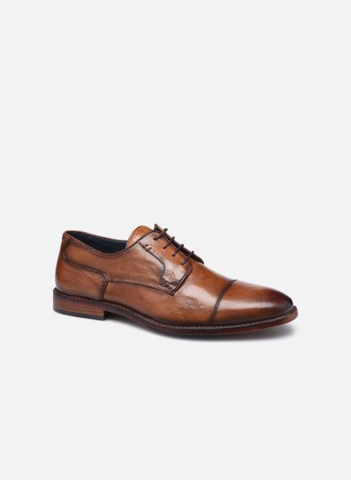 Zapatos con cordones Azzaro TILLEUIL Marrón vista de detalle / par