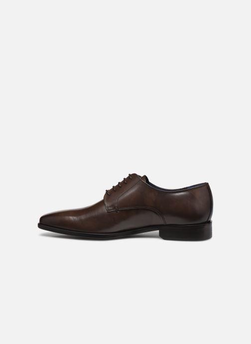 Chaussures à lacets Azzaro CARDONI Marron vue face