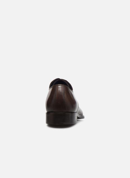 Zapatos con cordones Azzaro CARDONI Marrón vista lateral derecha