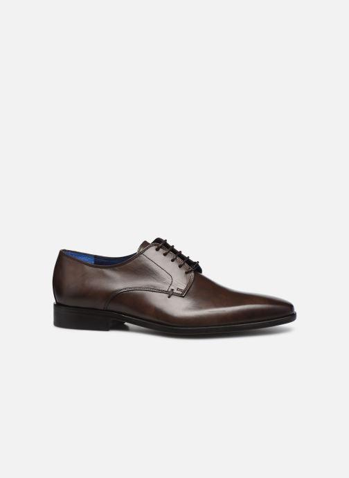 Chaussures à lacets Azzaro CARDONI Marron vue derrière