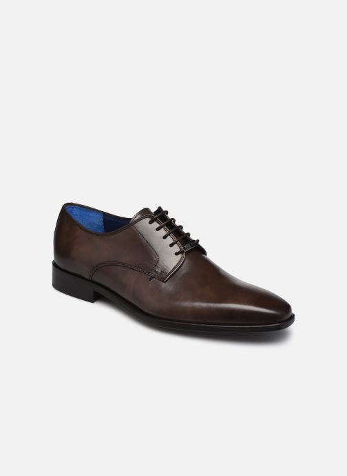 Zapatos con cordones Azzaro CARDONI Marrón vista de detalle / par