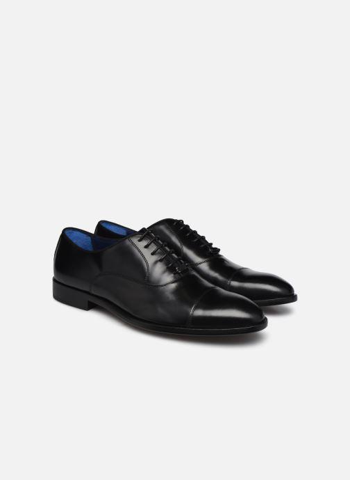 Zapatos con cordones Azzaro ZEMOUR Negro vista 3/4