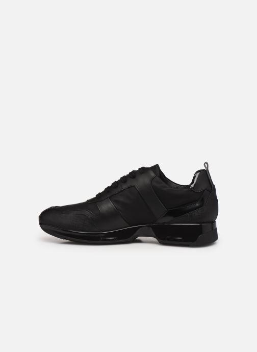 Sneaker Azzaro ROSARIO schwarz ansicht von vorne