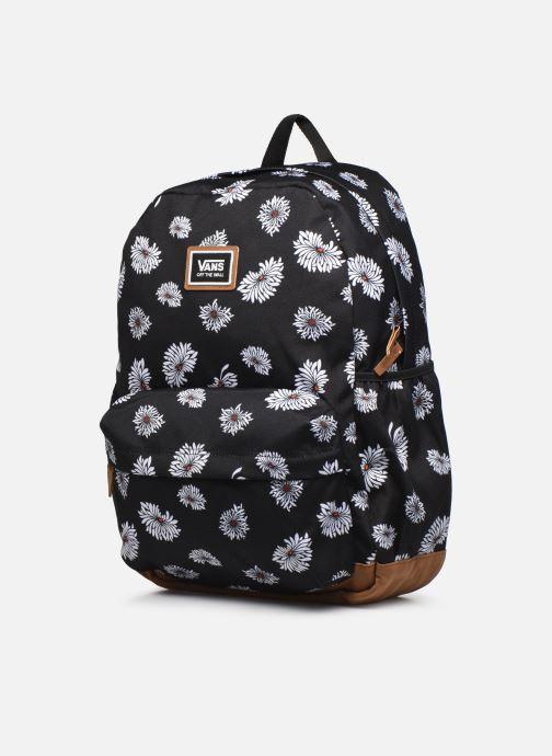Rucksäcke Vans Realm Plus Backpack schwarz schuhe getragen