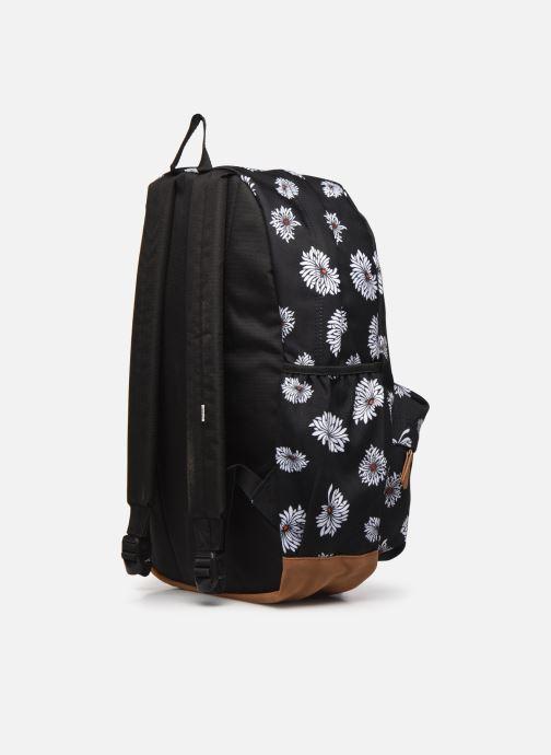 Rucksäcke Vans Realm Plus Backpack schwarz ansicht von rechts