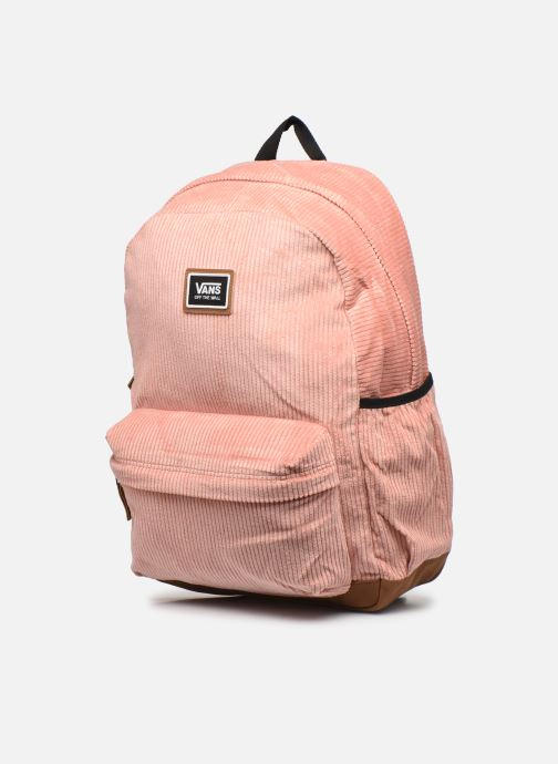 Rucksäcke Vans Realm Plus Ii Backpack orange schuhe getragen
