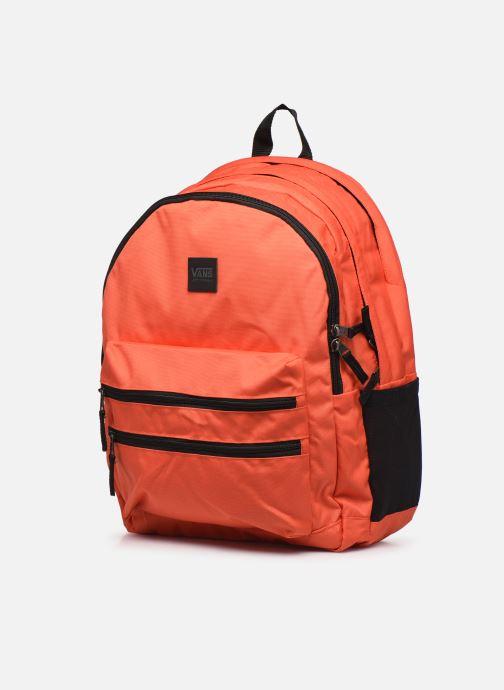 Rucksäcke Vans Schoolin It Backpack orange schuhe getragen