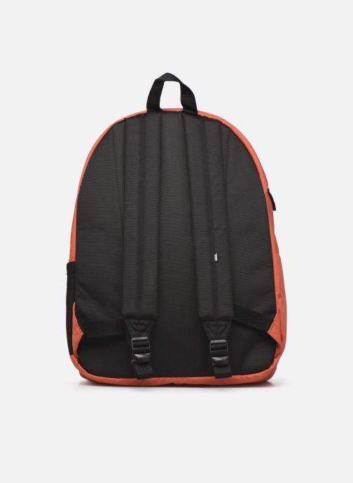 Mochilas Vans Schoolin It Backpack Naranja vista de frente