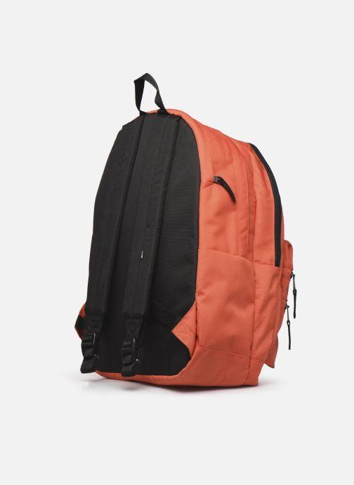 Rucksäcke Vans Schoolin It Backpack orange ansicht von rechts