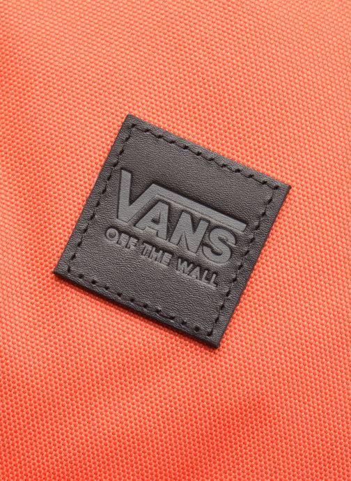 Mochilas Vans Schoolin It Backpack Naranja vista lateral izquierda
