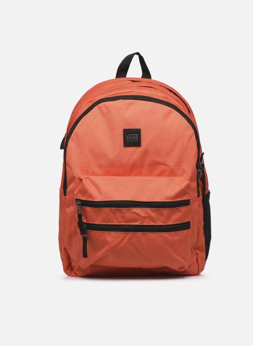 Sacs à dos Vans Schoolin It Backpack Orange vue détail/paire