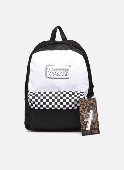 Mochilas Vans Diy Backpack Blanco vista lateral izquierda