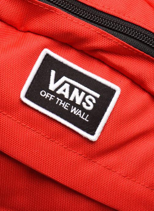 Sacs à dos Vans Stasher Backpack Rouge vue gauche