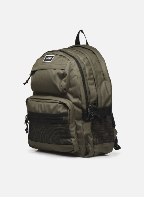 Mochilas Vans Stasher Backpack Verde vista del modelo