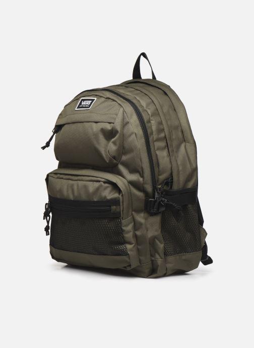 Sacs à dos Vans Stasher Backpack Vert vue portées chaussures