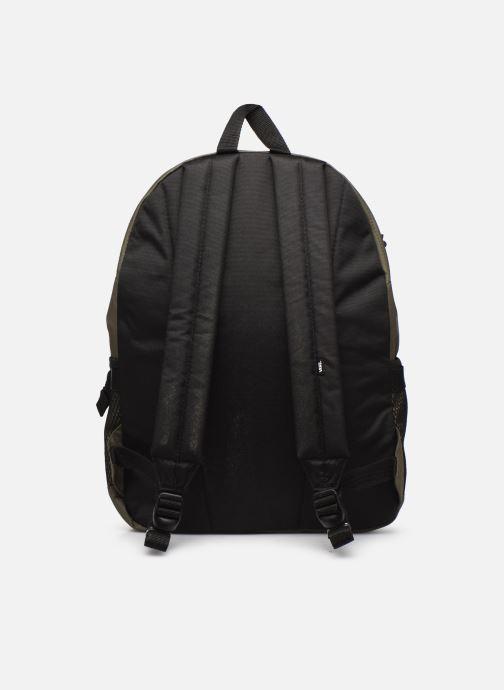 Sacs à dos Vans Stasher Backpack Vert vue face