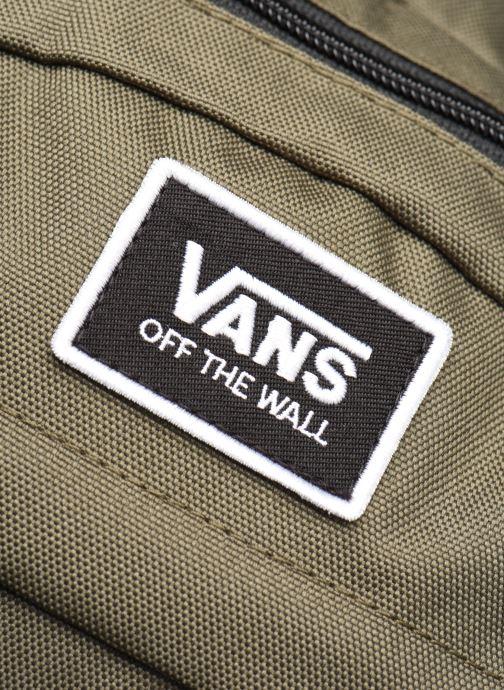 Rucksäcke Vans Stasher Backpack grün ansicht von links