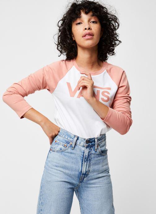 Vêtements Vans Tay Luh Rose vue détail/paire