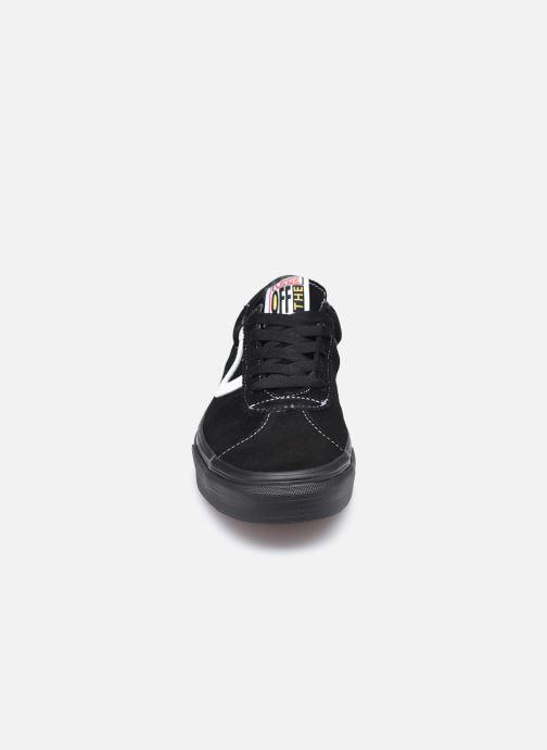 Baskets Vans UA Vans Sport Noir vue portées chaussures