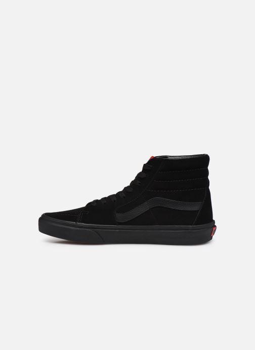 Sneaker Vans SK8 Hi M II schwarz ansicht von vorne