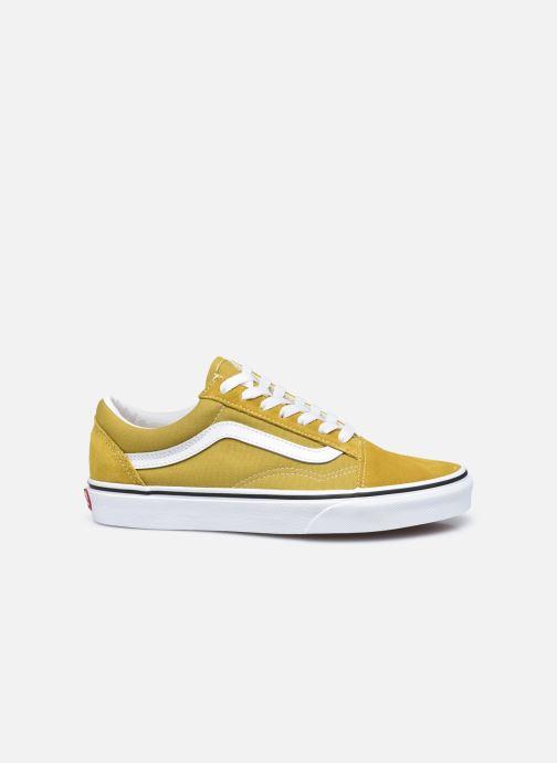 Sneaker Vans UA Old Skool II gelb ansicht von hinten