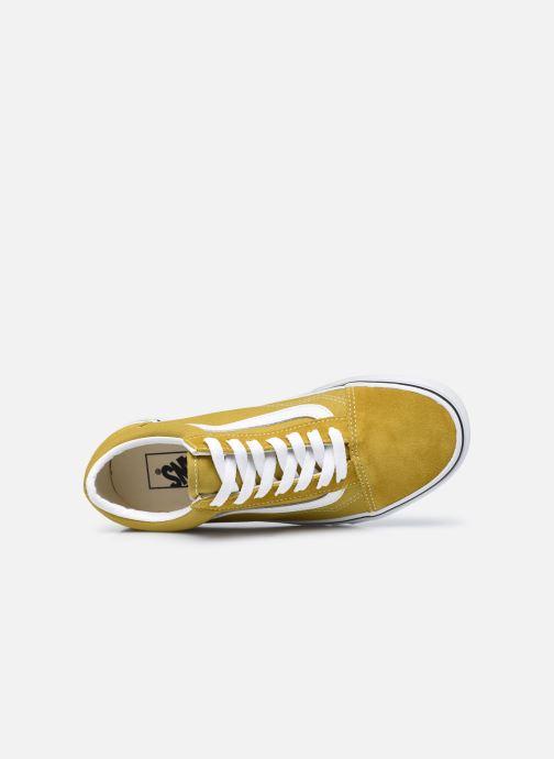 Sneaker Vans UA Old Skool II gelb ansicht von links