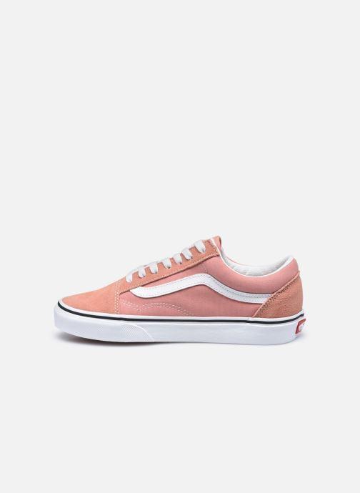 Sneaker Vans UA Old Skool II rosa ansicht von vorne