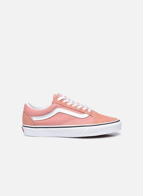 Sneaker Vans UA Old Skool II rosa ansicht von hinten