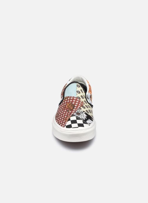 Sneaker Vans UA Classic Slip-On II braun schuhe getragen