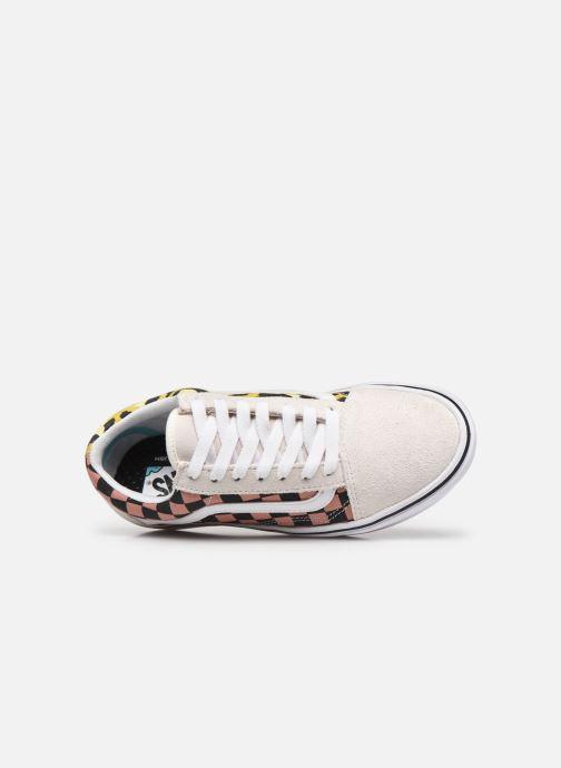 Sneaker Vans UA ComfyCush Old Skool weiß ansicht von links
