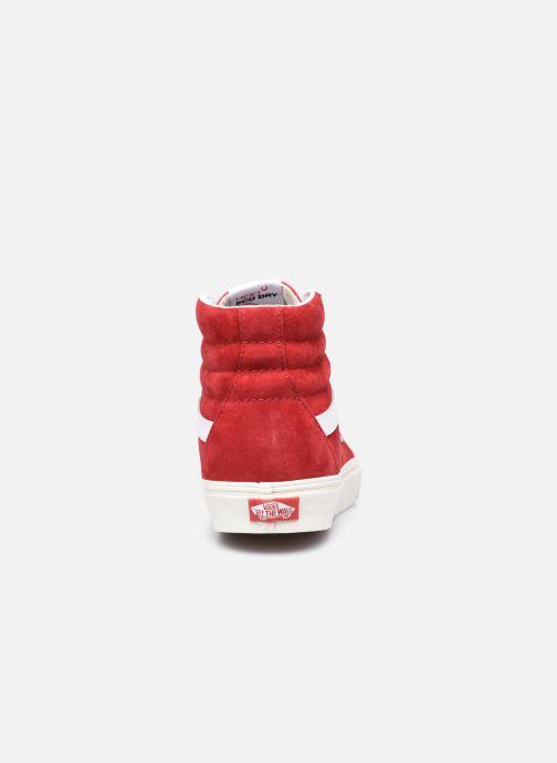 Baskets Vans UA SK8-Hi II Rouge vue droite