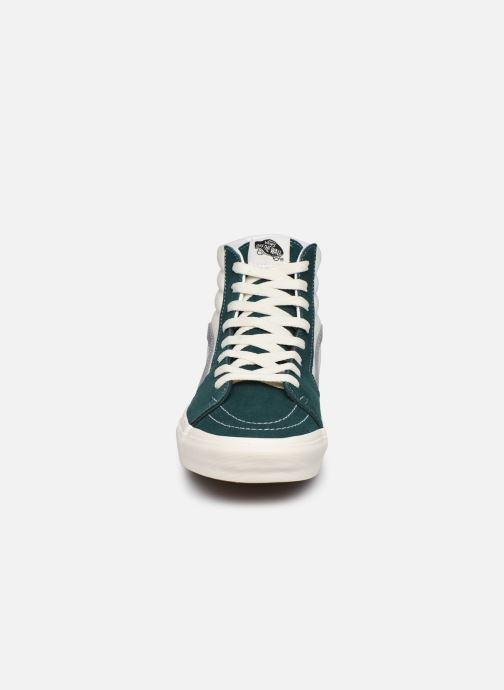 Baskets Vans UA SK8-Hi II Vert vue portées chaussures