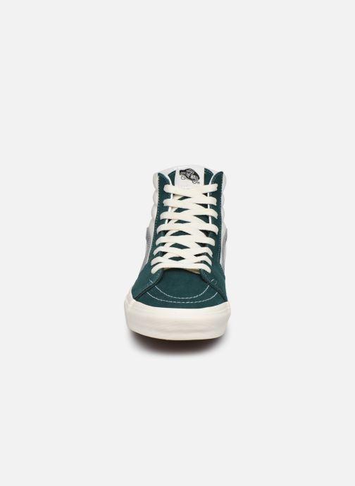 Sneaker Vans UA SK8-Hi II grün schuhe getragen