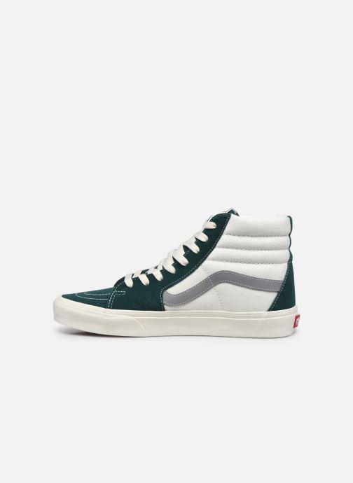Sneaker Vans UA SK8-Hi II grün ansicht von vorne