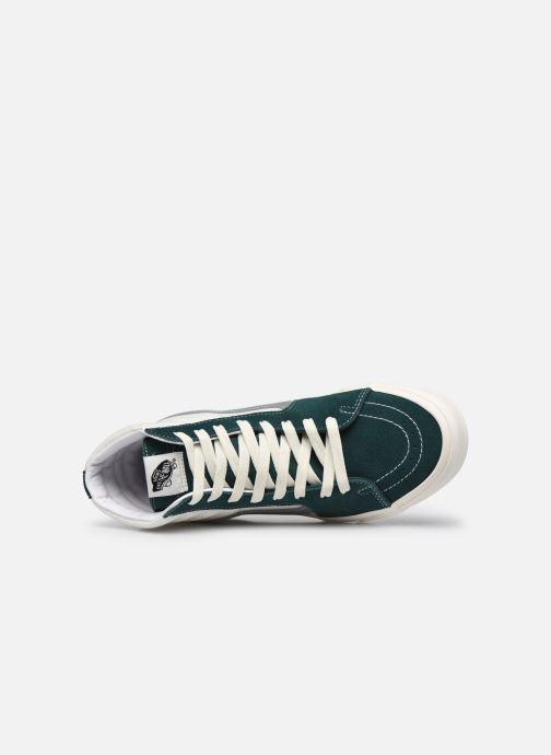 Sneaker Vans UA SK8-Hi II grün ansicht von links