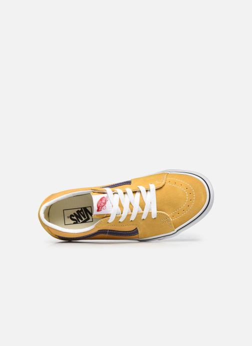 Sneakers Vans UA SK8-Low Giallo immagine sinistra