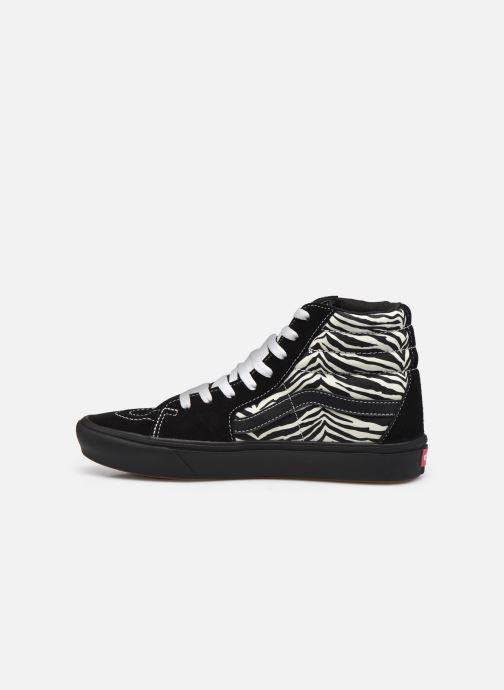 Sneaker Vans UA ComfyCush SK8-Hi schwarz ansicht von vorne