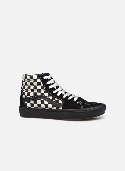Sneaker Vans UA ComfyCush SK8-Hi schwarz ansicht von hinten