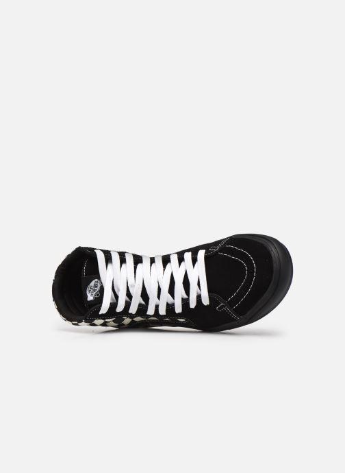 Sneaker Vans UA ComfyCush SK8-Hi schwarz ansicht von links