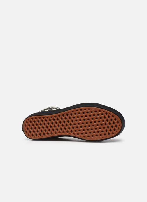 Baskets Vans UA ComfyCush SK8-Hi Noir vue haut