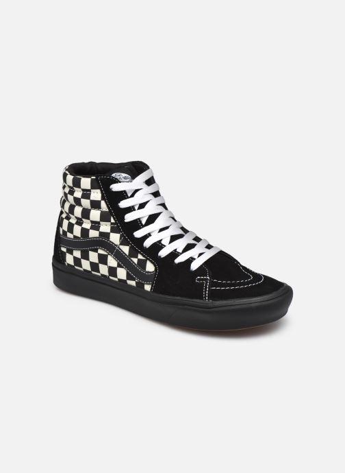 Baskets Vans UA ComfyCush SK8-Hi Noir vue détail/paire