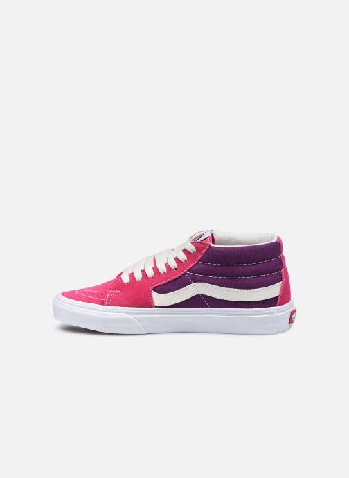 Sneaker Vans UA SK8-Mid (RETRO SPORT)CA rosa ansicht von vorne