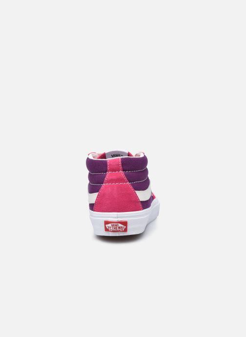 Sneakers Vans UA SK8-Mid (RETRO SPORT)CA Rosa immagine destra